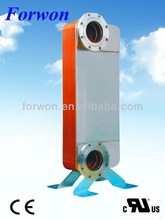 FHC310 copper brazed plate heat exchanger (Equal Swep B500T, Alfa Laval CB300) for HVAC&R, Industrial cooling/heating, Oil cool
