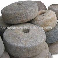 Granite Antique Garden Millstone