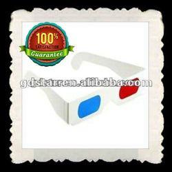 custom logo paper 3d glasses paper eye glasses