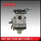 high performance carburetor 52cc for TU26 brush cutter spare Parts