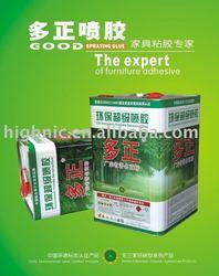 Spray glue for leather