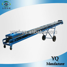 Carbon steel inclined belt conveyor for mining industry