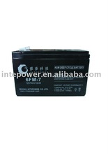 12V7AH deep cycle battery