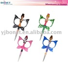 MS01A Butterfly Embroidery manicure cuticle scissors