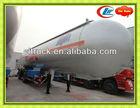 3axles lpg truck trailer for propane transportation,propane transport trailers for sale