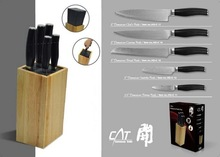5 Pcs damascus steel knife set damascus knife blade blank