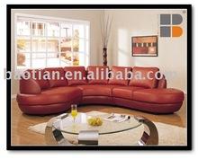 Leather european sofa 0455