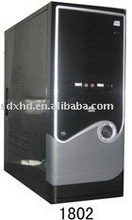 1802 ATX computer case with high quality 8cm fan pc case full tower