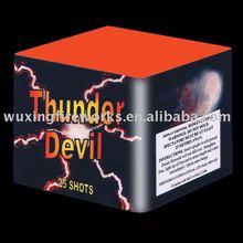 1.2 inch Thunder Devil 25S Cake Fireworks