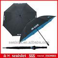 """30"""" doule tettuccio in fibra di vetro manuale telaio ombrello da golf aperto, doppio strato ombrello da golf, ombrello da golf"""
