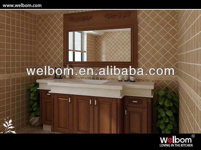 classico bianco compensato mobiletto del bagno-Armadietto-Id prodotto:3436609...