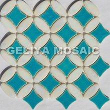 Glass Mosaic Blend Wall Tile,Color Mixture