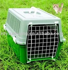 plastic dog flight cages Plastic samll house for middle pet