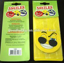 Promo smiling Car accessories Car Air Freshener