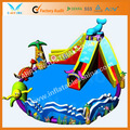 Popular by12inflable del agua parque/giganteinflable flotante de agua del parque de tibur&oacute;n blanco