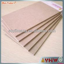 2.5-40mm plan mdf wood in high quality E0/E1/E2/CARB P2