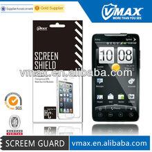 High clear anti-fingerprint screen ward for HTC EVO 4G