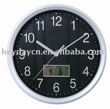 Plastic LED wall clock (HN-8711)