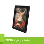 Aluminium Picture Frame acrylic light box