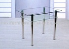 DT-6012 Perspex Glass Dining Table