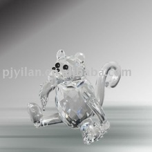 crystal glass animal fashion crystal zodiac figurine monkey