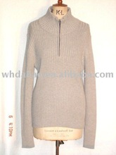 100 cotton pullover knitted man sweater
