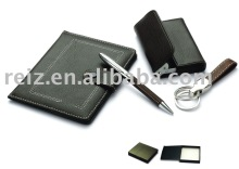 business gift,wallet,card holder,key holder set