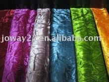 Wrinkled & Shining Velvet for Sofa