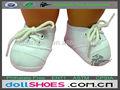 pulgadas 18 deportes muñeca bebé zapatos de muñecas de vinilo zapatillas de deporte