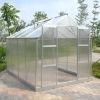 Huixin polycarbonate sheet & aluminium greenhouse HX65124