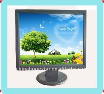 Tv,av and dvi optional! 19 inch lcd monitor