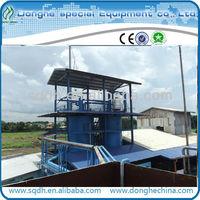 JL-2 waste oil pyrolysis machine tyre oil recycling distillation equipment