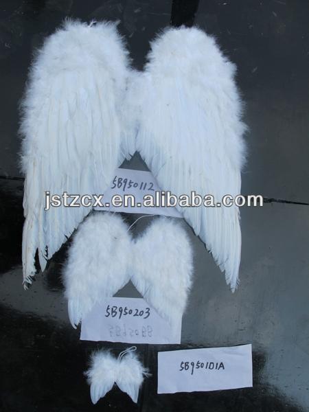 grande grande grande preto branco pena asas de anjo para a venda quente