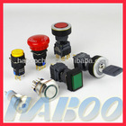 HBD16 series waterproof electronical ip65 illuminated push button switch