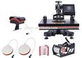 novo design 6in 1 combo da imprensa do calor impressão por sublimação máquina para venda