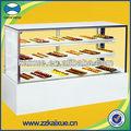 Comercial de la torta de visualización del refrigerador