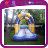 Professional inflatable floating water slides for swimming pools