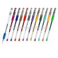Pictogrammes animés et multi-couleurs Glitter parfumés au stylo Gel