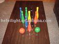 Boules de bowling en bois