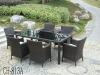 2014 Foshan factory hot sell rattan garden furniture