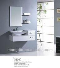 Mengdio 2012 white MDF bathroom cabinet(M007)