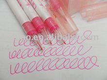 Fine Color Ink Pens of Pink Color Free Samples