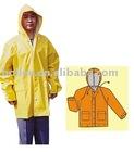 plastic pvc rain wear suit