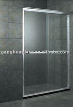 Modern Rolling Flat Sliding Shower Screen Glass Door