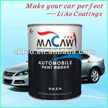 Acrylic, NC Macaw Brands Car Paint