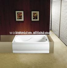 CUPC Short Apron acrylic simple bathtub WTM-02803