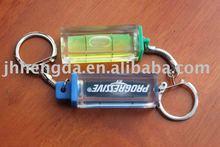 promotional liquid keychain ,bubble level
