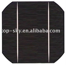 2015 high efficiency photovoltaic 5*5 inch mono solar cell low price CE,TUV,ROHS