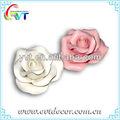 mini flor de cerâmica