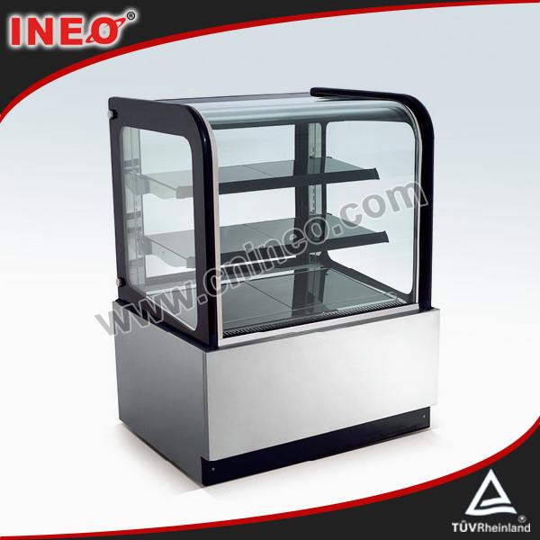 Cake display cases bench refrigerator cake display cabinet refrigerate